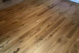 Howdens engineered fitted. Along with new skirting