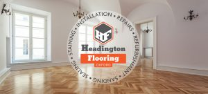 Headington flooring logo oak herringbone
