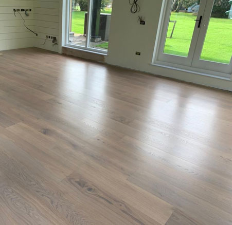 Engineered flooring supplied and fitted by Headington Flooring